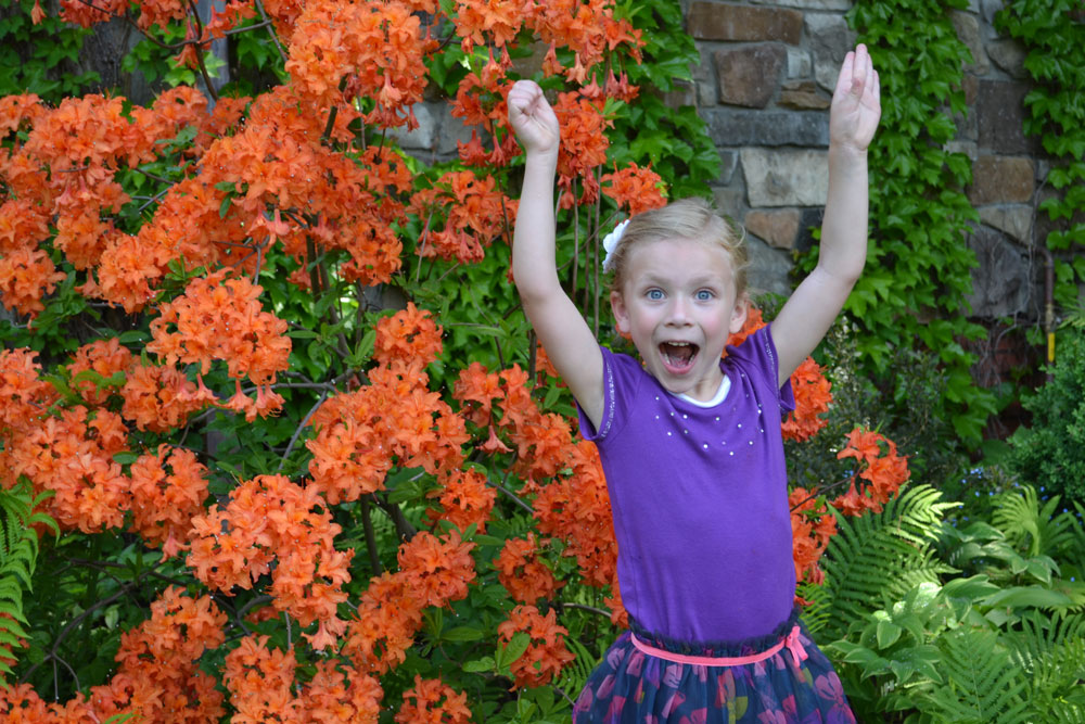 Faith-Orange-Flowers-Excited